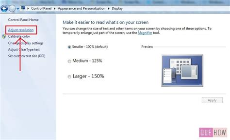 How to Change Screen Resolution in Windows 7: 6 Steps