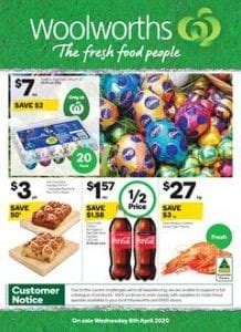 Woolworths Catalogue Easter 8 - 14 Apr 2020