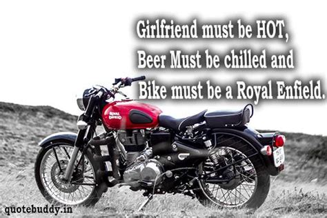 Royal Enfield Quotes, Sayings for You | Bullet Quotes, Images