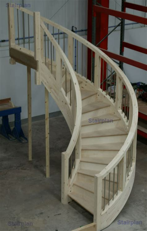 Custom Made Spiral Staircases