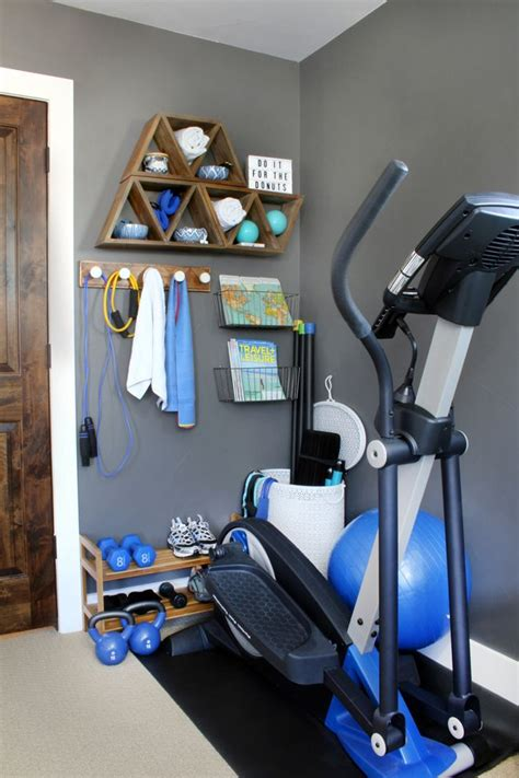 Stylish Home Gym Ideas for Small Spaces | Workout room