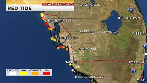 New red tide map shows concentrations in SWFL