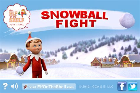 Snowball Fight - Elf on the Shelf ® - Christmas Game for