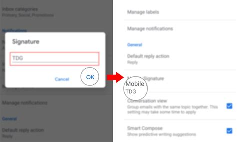 How to Add Mobile Signature on your Galaxy S20 Gmail Account