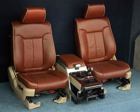 2010 2009 Ford F150 King Ranch Front Seats & Console New