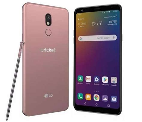 LG Stylo 5 with Stylus debuts on Cricket Wireless and