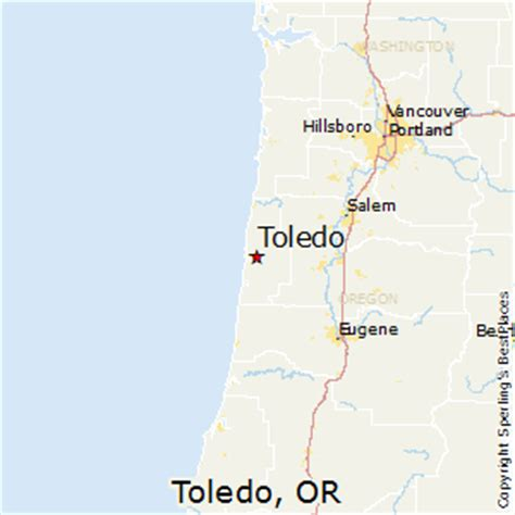 Best Places to Live in Toledo, Oregon