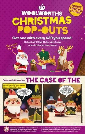 Woolworths Catalogue Christmas Food 5 - 11 Dec 2018