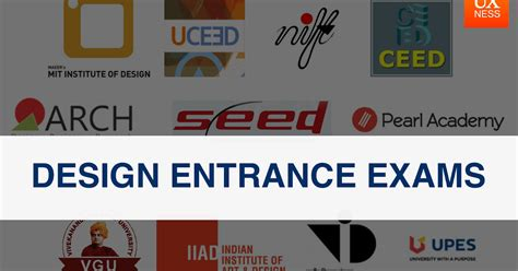 Top Design Entrance Exams in India ~ UXness: UX Design
