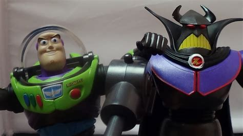 Toy Story Black Space Suit Buzz Lightyear and Evil Emperor