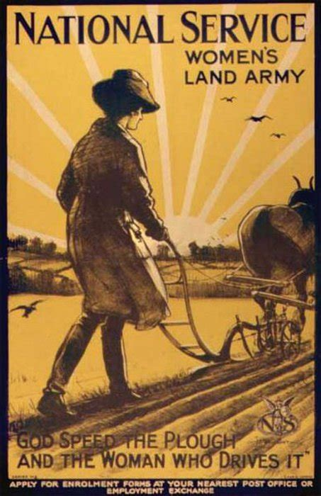Recruitment poster for the Women's Land Army - Archives Hub