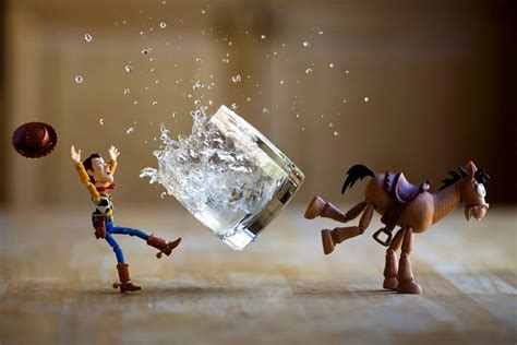 """I Photograph """"Toy Stories"""" By Creating Special Effects In"""