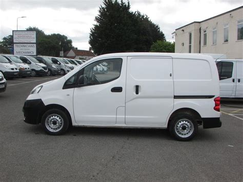 Used Nissan NV200 SE Dci Twin Side Doors NO
